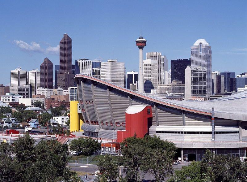 Beautiful View of Calgary