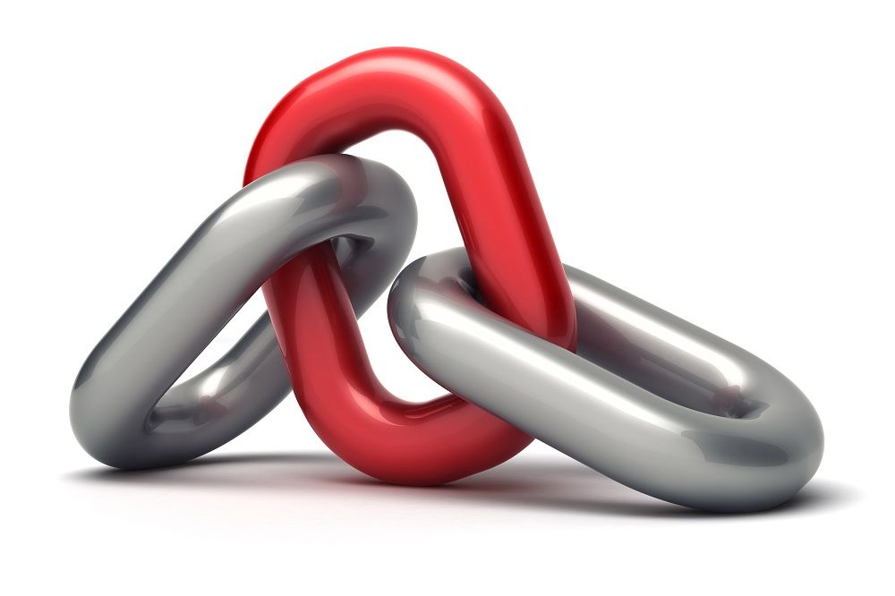 Red and Gray Chain