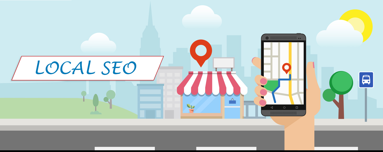 Google My Business Local Map Top Ranking